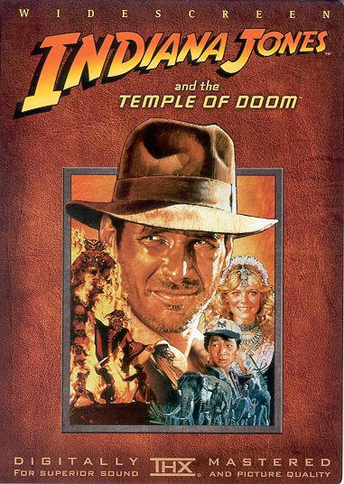 dvd indiana jones and the temple of doom mark r