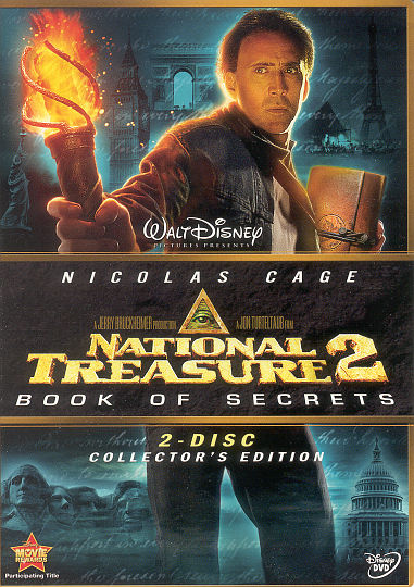 DVD - National Treasure 2: Book of Secrets | Mark R ...