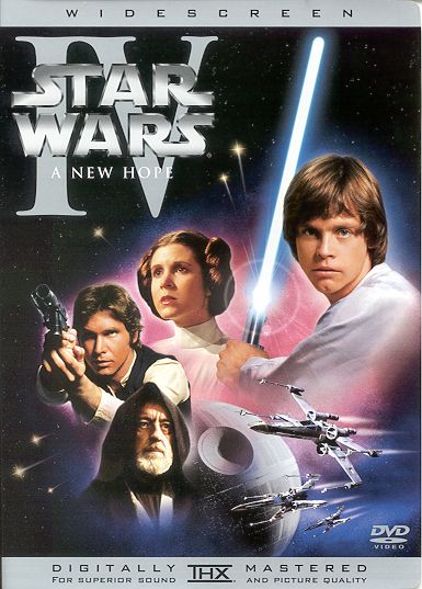 DVD - Star Wars IV: A New Hope(Page Created: September 21, 2004)
