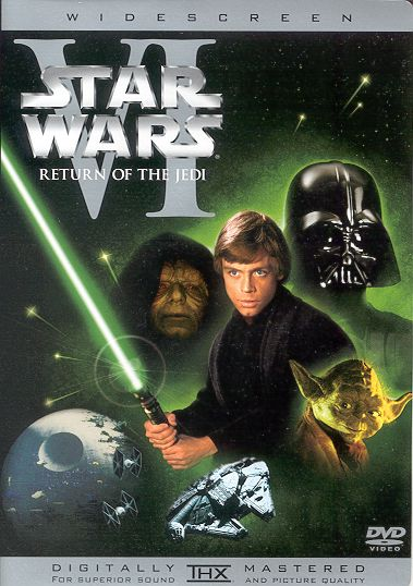 Star Wars Dvd. star wars return of the