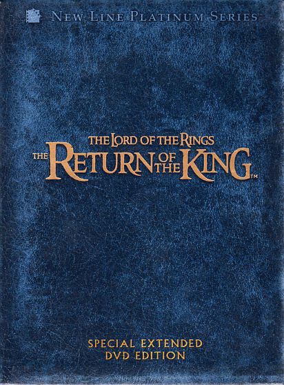 Extended Lord Of The Rings Dvd